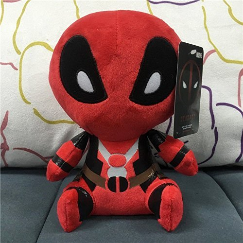 Girls Superhero Costumes Asda (HOT! 8'' FUNKO MOPEEZ Marvel Deadpool PLUSH DOLL ACTION FIGURE TOYS)