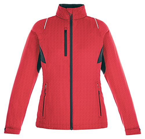 Ladies Red Flame Jacket - 9