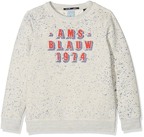 amp; Sweat Beige 02 Scotch Felpa And Washings Bambino ecru Neck Crew Soda Different With Artworks Rxqwpdfq