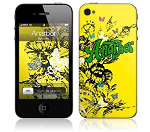 Zing Revolution MS-ANAR10133 iPhone 4- Anarbor- Butterfly Skin