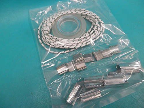 1 New Patio Outside Deck Umbrella Replacement Repair Kit Cord String Ring Cli