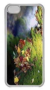 LJF phone case Customized iphone 6 4.7 inch PC Transparent Case - Fall Leaves 4 Personalized Cover