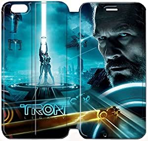 Flip Folio Leather Case for iPhone 6 plus 5.5 inch Cell Phone Case TRON Legacy HPM4626765
