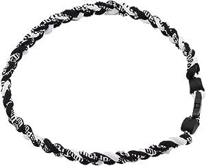 NCAA Michigan Wolverines Twist Titanium Sport 18 Necklace