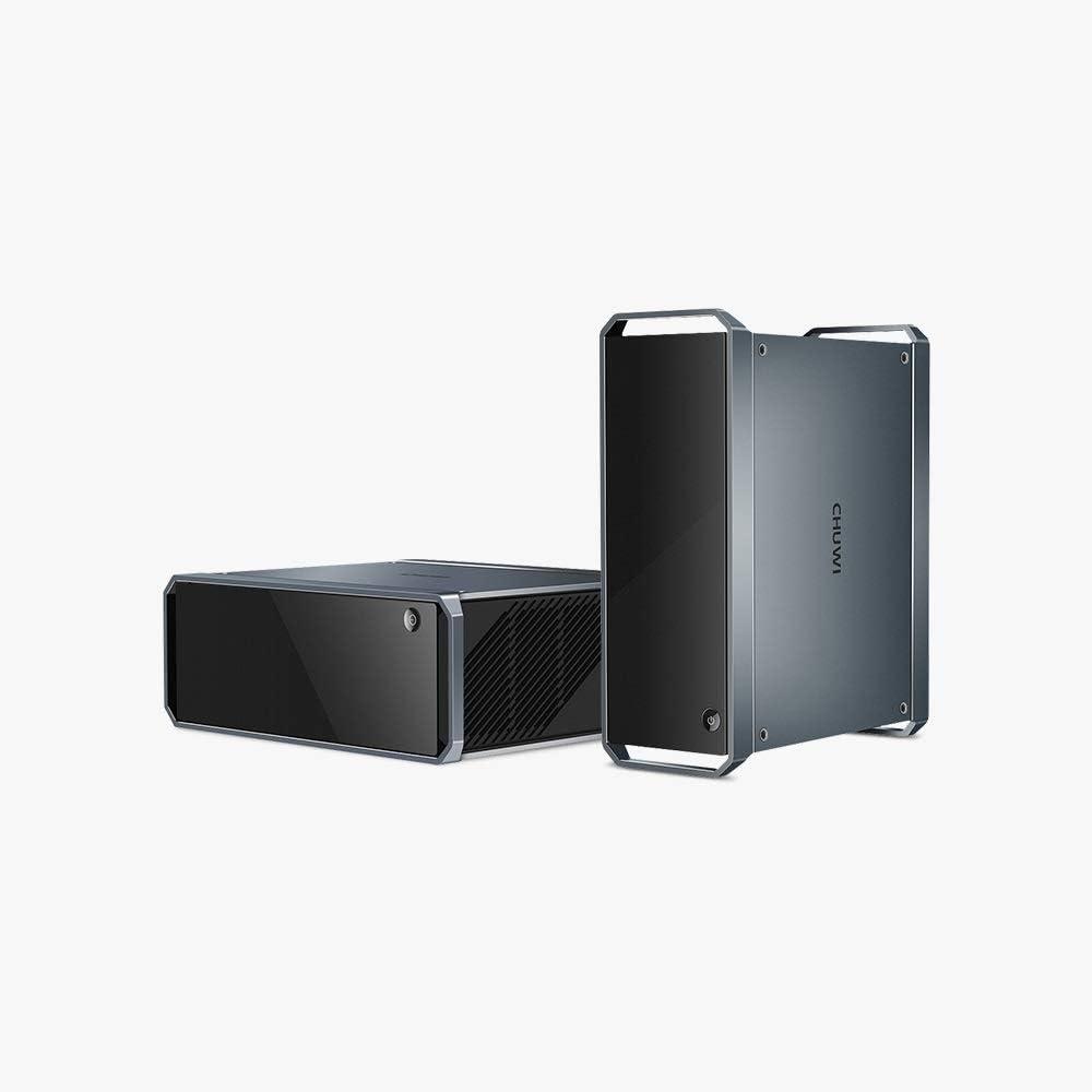 CHUWI GT Box Windows 10 Home Office Game Mini PC, 8GB DDR3 256GB SSD, ampliable 2TB 2.5 pulgadas HDD, 1TB SSD con 2.4GHz/5GHz Dual WiFi 1000Mbps/BT4.2