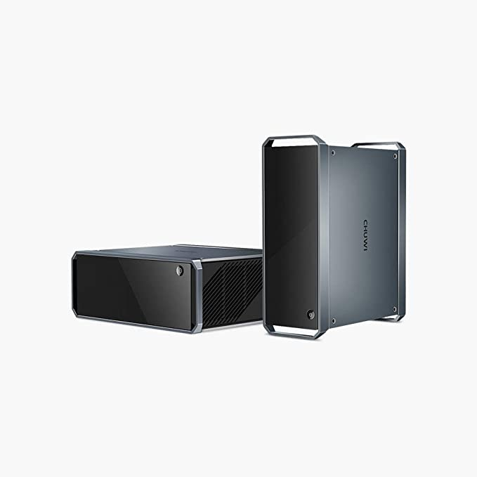 CHUWI CoreBox Windows 10 Mini PC,Intel Core i5 Mini Desktop pc, 8GB DDR3 256GB SSD,Expandable 2TB 2.5 Inch HDD, 2.4GHz/5GHz Dual WiFi/Gigabit Ethernet / 4K Decoding/BT4.2   Amazon