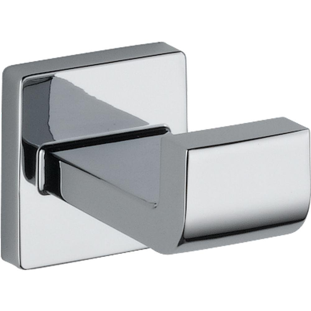 Delta Faucet 77535 Ara, Robe Hook, Polished Chrome by DELTA FAUCET