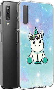 Yoedge Funda Samsung Galaxy A7 2018, Ultra Slim Cárcasa Silicona ...