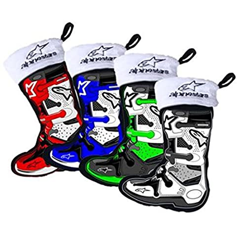 Smooth Industries Alpinestars Boot Holiday Stocking Ornaments - 4 Pack (Alpine Industries)