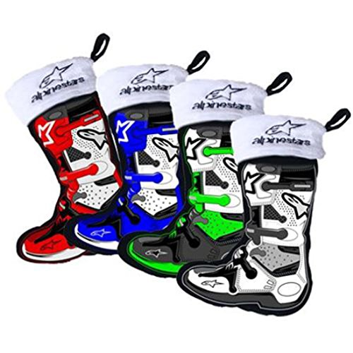 Smooth Industries Alpinestars Boot Holiday Stocking Ornaments - 4 (Boot Christmas Stocking)