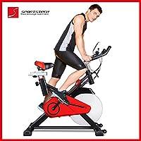 Sportstech Profi Indoor Cycle SX100 mit 14KG Schwungrad, gepolsterter...