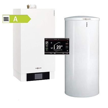 W 26 kW mit 160l Trinkwasserspeicher Viessmann Paket Vitodens 200