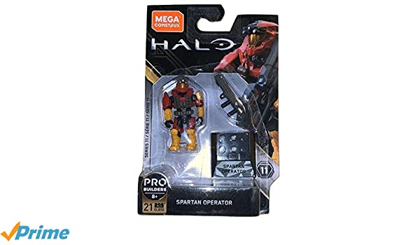 Mega Construx Halo Heroes Probuilder Series 11 Spartan Operator Figure