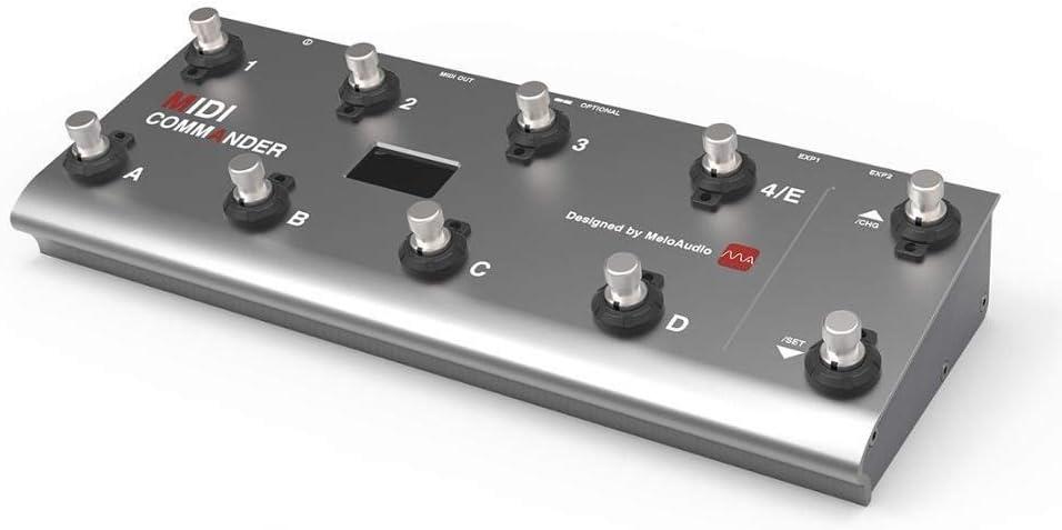 Controlador de pie MIDI afinador de guitarra guitarra pedal ...