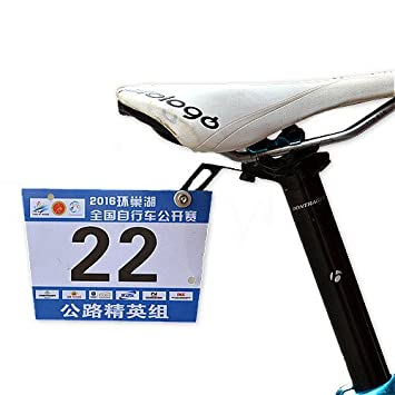 Thinvik Bike Race Number Plate Holder Cycling Number Mount  sc 1 st  Amazon.com & Amazon.com: Thinvik Bike Race Number Plate Holder Cycling Number ...