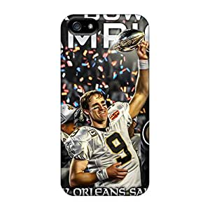 New Qaz486eaAX New Orleans Saints Tpu Cover Case For Iphone 5/5s