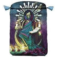Santa Muerte Tarot Bag: Satin Tarot Bag, 160 x 225mm