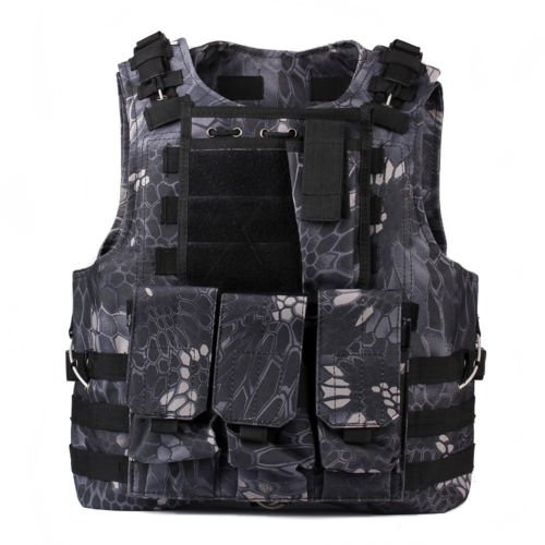 About Paintball (Details About Military Tactical Vest Paintball Molle Carrier Adjustable Airsoft Combat)