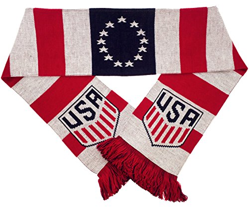 Official US Soccer Scarf - Colonial