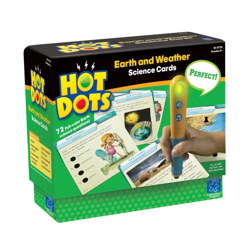 - Educational Insights Hot Dots Science Set- Earth & Weather