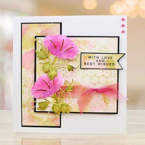 Zittop Morning Glory Cutting Dies Stencil Album Scrapbooking Cards DIY Embossing Tool by Zittop (Image #5)