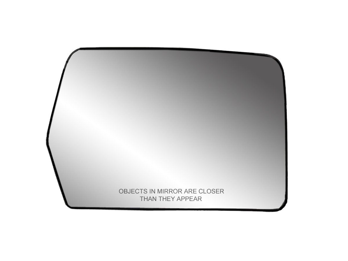 Fit System 30194 Passenger Side Heated Replacement 2006 F150 Wiring Diagram Dimmer Mirror Glass With Backing Plate Automotive