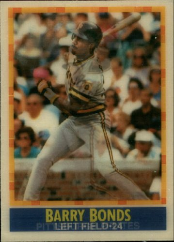 1990 Sportflics Baseball Card #143 Barry Bonds ()