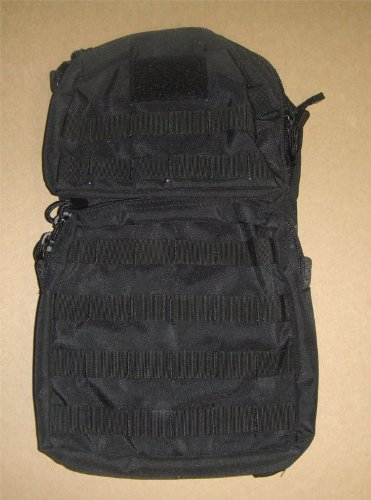 Molle HYDRATION BACKPACK Pack with Bladder- BLACK, Outdoor Stuffs