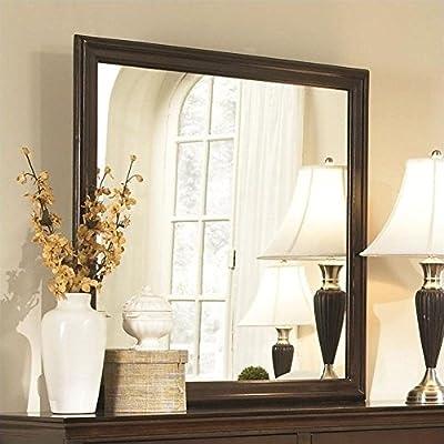 Coaster Home Furnishings 202394 Casual Contemporary Mirror, Espresso