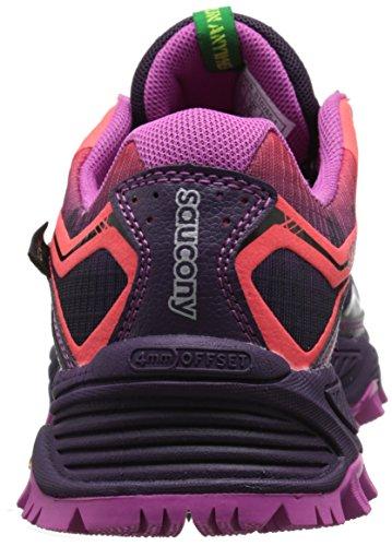 Saucony 0 Gtx 6 Trail Xodus Running Purple Women's Shoe Coral rqxtFUwrA6