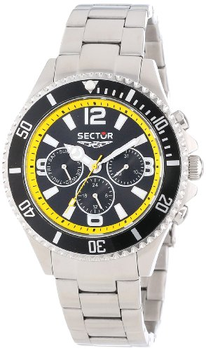 Sector Unisex R3273661125 Urban 230 Analog Stainless Steel Watch