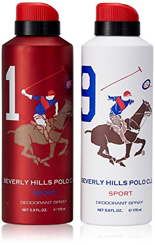 Beverly Hills Polo Club Deodorant For Men, 175ml (Pack Of 2)