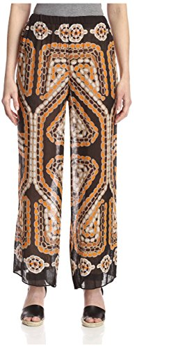 Theodora & Callum Women's Mozambique Pant, Black Multi, One Size]()