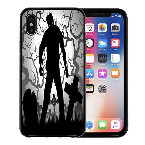 Semtomn Phone Case for Apple iPhone Xs case,Monster