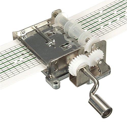 魅力的な DIY 15 Note DIY 15 Hand Cranked音楽ボックスMovement B01F8KBS5W with穴Puncherと20用紙テープ B01F8KBS5W, 中郷村:d52077e3 --- arcego.dominiotemporario.com