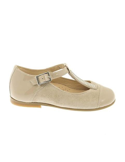 e9a92cad90c Andanines Pepito 161376 Charol Ante Camel  Amazon.es  Zapatos y complementos