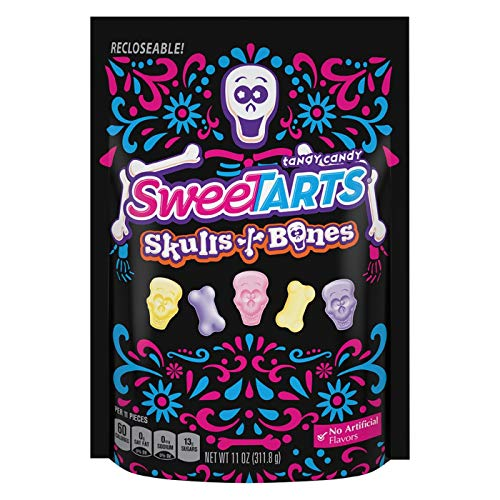 (Dollaritem 815330 Wholesale Sweettarts Tangy Skulls & Bones 11Oz)