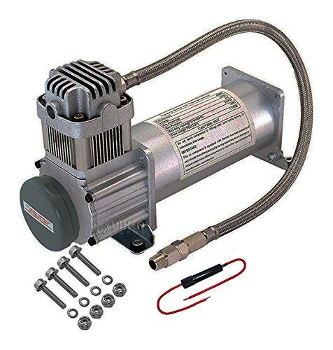 Viking Horns V103C2X-6-12/311-1 Super Loud 170 Decibels Train Air Horn Kit, With DUAL 200 PSI Air Compressors