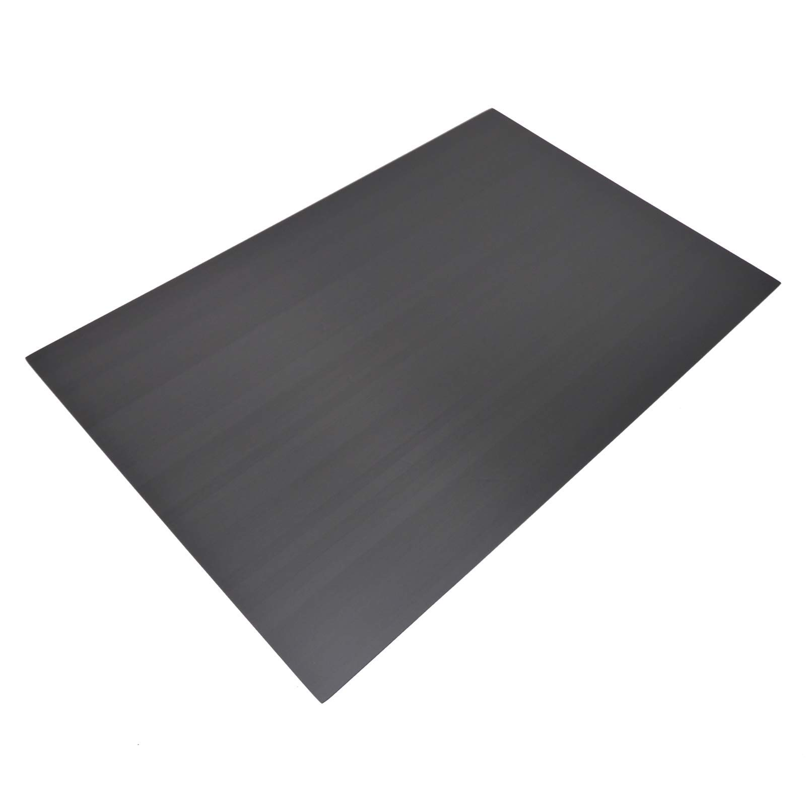300x200x3MM Unidirectional Carbon Fiber Composite Sheet Panel Gloss Finish by USAQ