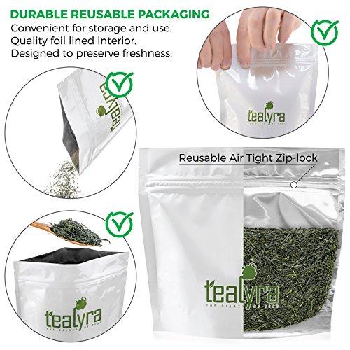 Tealyra - Gyokyro Shizuoka Japanese - Finest Hand Picked - Green Tea - Highest Premium Tea - Loose Leaf Tea - Organically Grown - 200g (7-ounce) by Tealyra (Image #1)