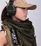 AKDSteel Evaric Army Military Arab Shemagh Tactical Scarf Bandanas Head Scarves Keffiyeh Army Green Fashionable products