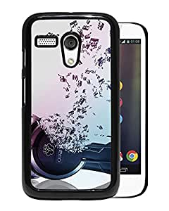 New Beautiful Custom Designed Cover Case For Motorola Moto G With Music Phone Case