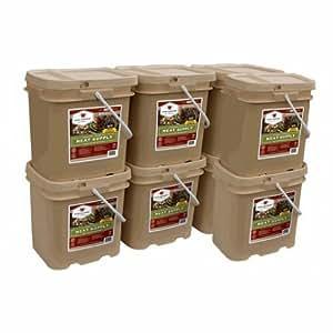 Wise Foods Storage Meat Bucket - 480 Servings