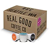 Real Good Coffee Co Recyclable K Cups, Variety Pack, For Keurig K-Cup Pod Brewers, 36 Single Serve Coffees