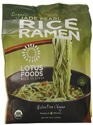 Lotus Foods Organic Jade Pearl Rice Ramen, 10 Ounce - 4 per pack -- 6 packs per case.