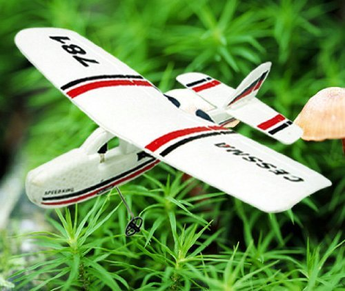 - Cessna 781 Infrared RC Airplane Micro 2CH Flight Remote Control Cub Plane RTF (Color may vary)