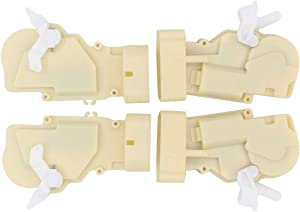 NewYall Pack of 4 Front and Rear Left Driver and Right Passenger Side Door Lock Latch Actuator