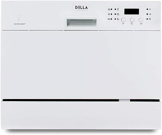 DELLA - Encimera compacta para lavavajillas portátil para cocina ...