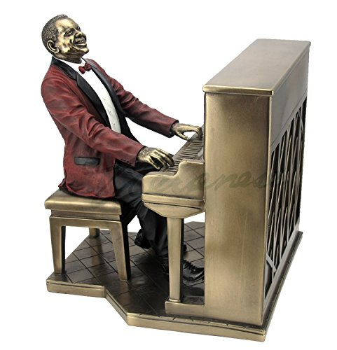(Piano Player Pianist Statue Sculpture - Jazz Band Collection)