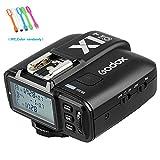 Godox X1T-O TTL 1/8000s HSS 2.4G Flash Trigger Transmitter Compatible Olympus E-PL5,E-P3,E-P5,PL5,E-PL6,E-PL7,E-PL8,E-M10II,Pen-F,Panasonic DMC-G85,DMC-GH4, DMC-GX85,DMC-GF1,DMC-LX100,DMC-FX2500GK